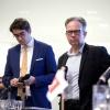 Gelderlander lijsttrekkerdebat ivm verkiezingen in het gemeentehuis . Nijmegen, 15-3-2018 .