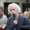 Verkiezingsdebat  in gemeentehuis. Laatste voorstelling van Rob Jaspers. Nijmegen, 25-3-2018 .