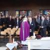 Begrafenis Marian van 't Hullenaar in Berg en Dal. Nijmegen, 30-3-2018 .