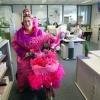 Nijmeegse Annie bezoekt de Gelderlanderredactie