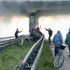 Autoongeluk met brand en dodelijk slachtoffer, A 325-Griftdijk