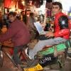 """India, nov. 2006. New Delhi, Op de fietstaxi door de bazar, meer foto\'s India in serie: Album India 2006\"""""""
