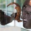 """""""Romeinse ruiterhelmen in museum Valkhof.met archeoloog Louis Swinkels en restaurateur Ronnie Meijers"""""""