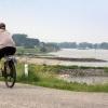 """""""foto van Millingerwaard en Waaloever, bij verhaal over milieueffectrapportage graven nevengeulen aan oever Millingerwaard"""""""