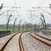 """""""Betuweroute, spoorlijn rails"""""""