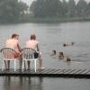 """""""in zwembad walburgen Gendt, is vandaag de tweede dag van de zwemvierdaagse"""""""