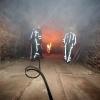 """Ubbergen, Brandweeroefening in steenfabriek"""
