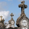 """Frankrijk Saulgond, begraafplaats"""
