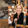"""""""oud-praesedes, Esther Appels. Ze is schilder"""""""