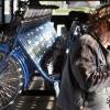 """""""Nieuwe Bike dispencer bij station Lent. fiets uitdeler"""""""