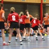 "\""Dameskorfbal Nederland Duitsland, Heuvelland Groesbeek\"""