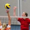 "\""Nijmegen, 26-9-2010 . Volleybal vrouwen: Pegasus - Simokos\"""