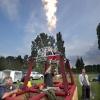 "\""Nijmegen, 21-7-2011 .  Luchtballon, gastest.\"""