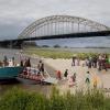 "\""Nijmegen, 20-7-2011 . Zomerfeesten, Vierdaagse Nijmegen, Valkhofaffaire Valkhof\"""